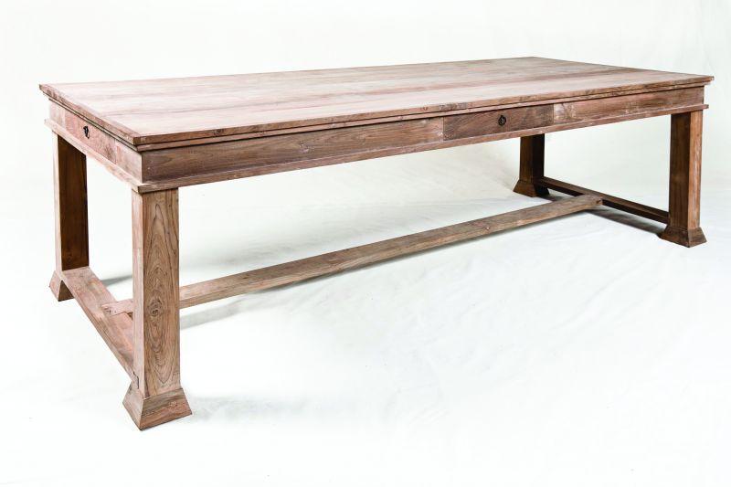 Tisch Landhausstil Marie, Massiver Holztisch Wohnzimmer / Esstisch