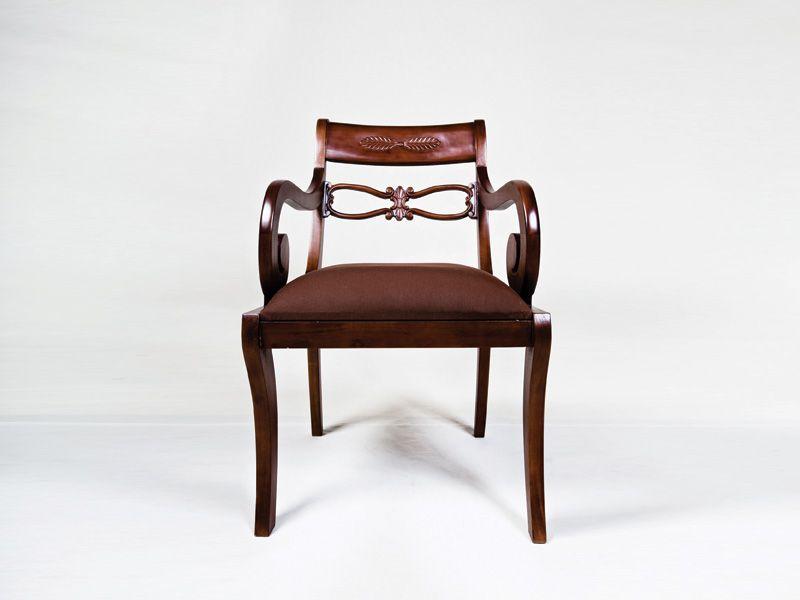 handgearbeiteter stuhl batavia im kolonialstil stuhl mit. Black Bedroom Furniture Sets. Home Design Ideas